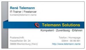 Telemann Solutions